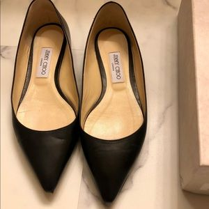 Jimmy Choo Romy Black Flats 39.5
